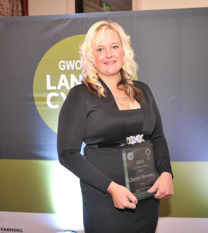 ​Cheryl Reeves, winner of the Farm Innovator Award